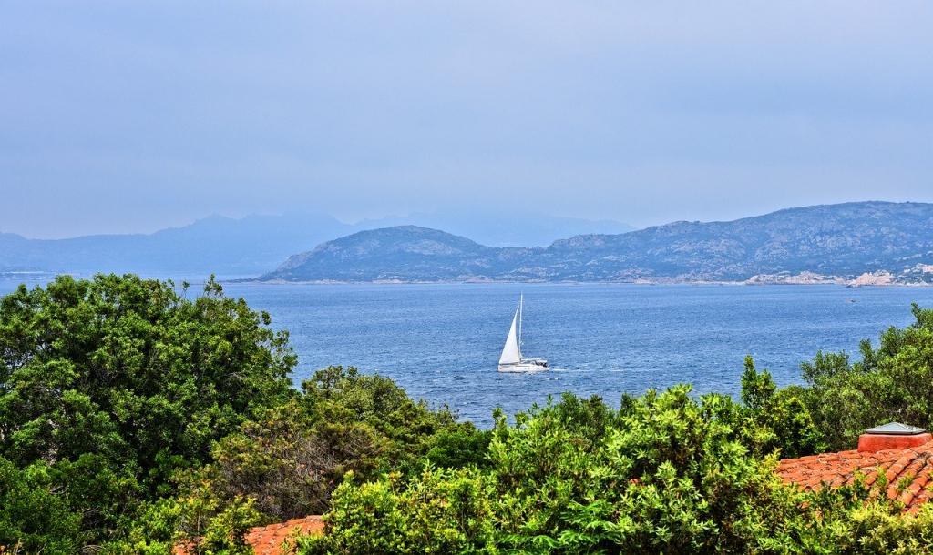 Voilier en Sardaigne