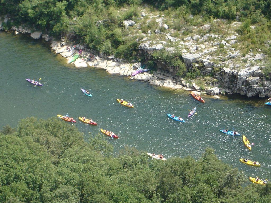 Canoe en Ardèche