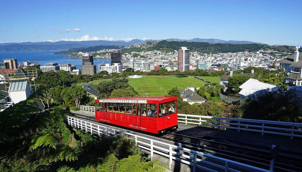 Wellington en Nouvelle Zélande