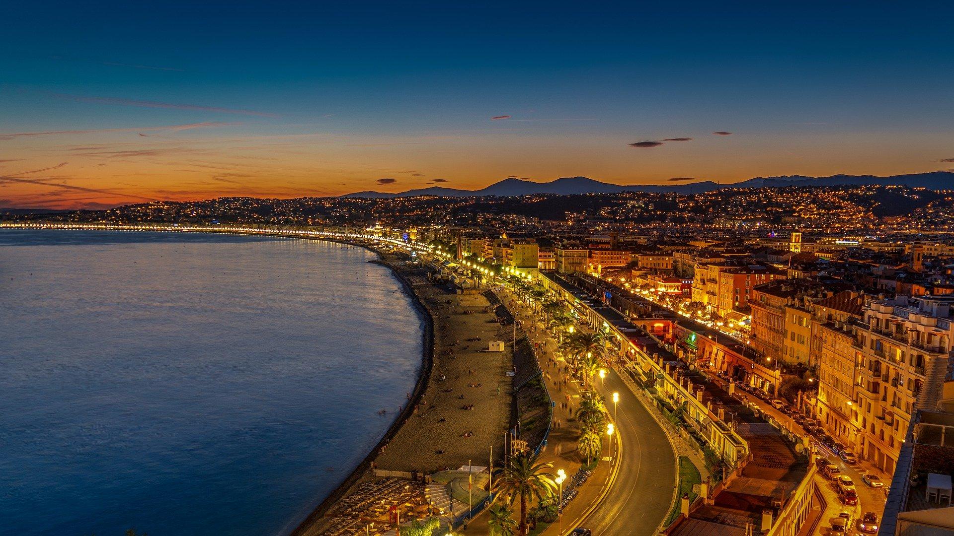 Ville de Nice panorama